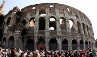 Kolosseum in Rom war im Mittelalter «Einkaufszentrum» (Foto)