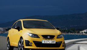 Kompakt, knackig, kernig - der Seat Ibiza Cupra hat eine höhere Hubraumleistung als ein Ferrari! (Foto)