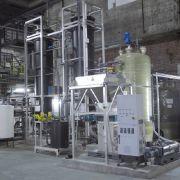 Die Pilotanlage in Stuttgart Gaisburg, in der künftig Tomaten, Gurken, Kirschen und Co. zu Biomethan verarbeitet werden.