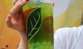 Krankenkasse warnt vor Modegetränk Bubble Tea (Foto)