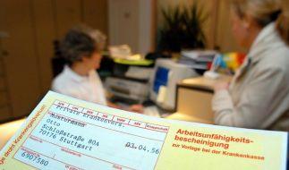 Krankenstand erreicht im ersten Halbjahr 2009 historisches Tief. (Foto)