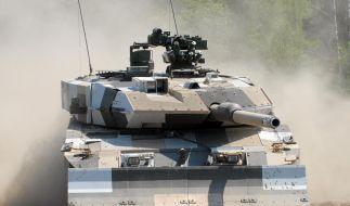 Krauss-Maffei baut Kampfpanzer vom Typ Leopard 2. (Foto)