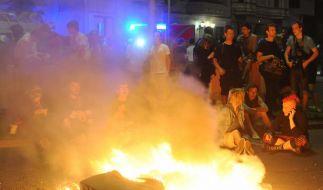 Krawalle am 1. Mai in Berlin und Hamburg (Foto)