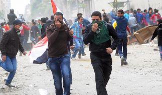 Krawalle in Kairo - Ägypter wollen neuen Präsident (Foto)