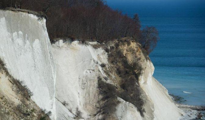 Kreideabbrüche auf Rügen: Nur ausgewiesene Wege betreten (Foto)