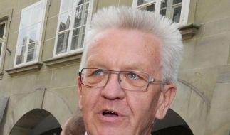 Kretschmann sagt Gewerkschaften Unterstützung zu (Foto)