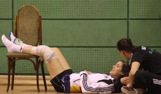 Kreuzbandriss: Handballerin Klein fällt lange aus (Foto)