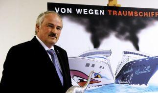 Kreuzfahrtfirmen als Umwelt-Saurier angeprangert (Foto)