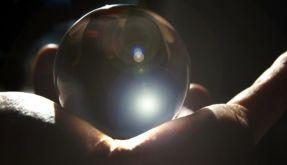 Kristallkugel (Foto)