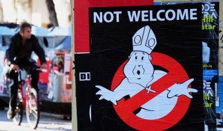 Kritik an Papst-Boykott (Foto)