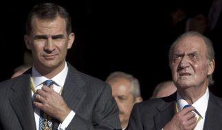 Kronprinz Felipe rückt in Spanien in den Blickpunkt (Foto)