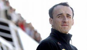 Kubica rutscht auf Eisplatte aus (Foto)