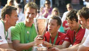 Kühnen allein zu Haus: Tennis-Herren sorgen für Novum (Foto)