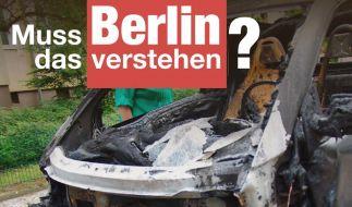 Künast: CDU-Plakate mit Autobränden «unanständig» (Foto)