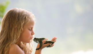 Küss den Frosch (Foto)