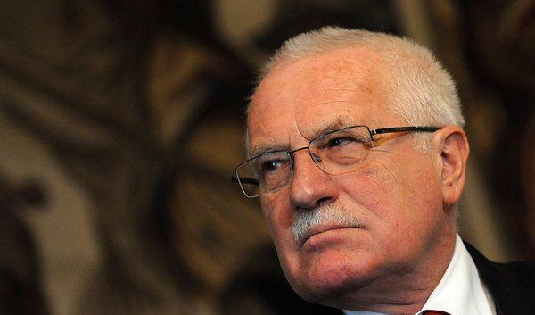 Kuli-Freund: der tschechische Präsident Vaclav Klaus (Foto)