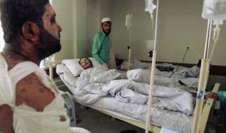 Kunduz-Opfer im Krankenhaus (Foto)