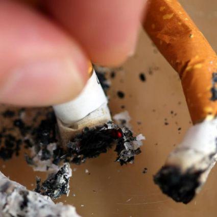Zigaretten verbannt