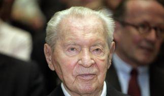 Kurz vor seinem 100. Geburtstag wird Werner Otto Berliner Ehrenbürger. (Foto)