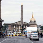 Schock vor Tour-Finale: Polizei schießt auf Autofahrer (Foto)