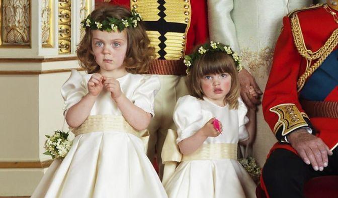 Kuscheltier auf Hochzeitsfoto von William und Kate (Foto)