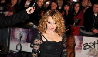 Kylie Minogue bleibt bei ihrem Spanier (Foto)