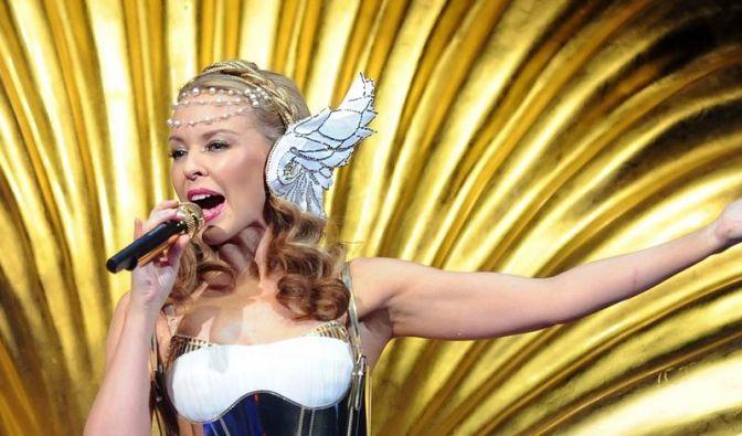 Kylie Minogue verlor die Fassung (Foto)