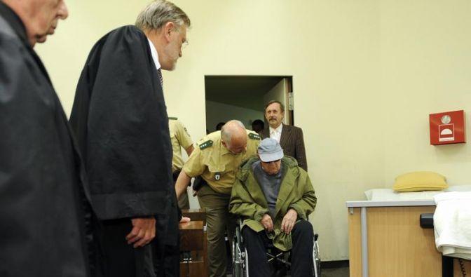 KZ-Wachmann Demjanjuk zu Haftstrafe verurteilt (Foto)