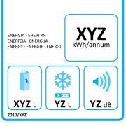 Label für Kühlschranke.