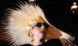 Lady Gaga kam den Sportlern ungelegen. (Foto)