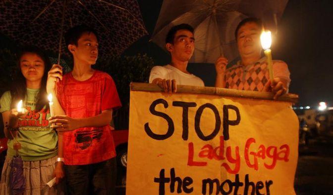 Lady Gaga überzeugt «Spione» und Fans in Manila (Foto)