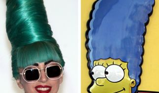 Lady Gagas Lesbenküsse mit Marge (Foto)
