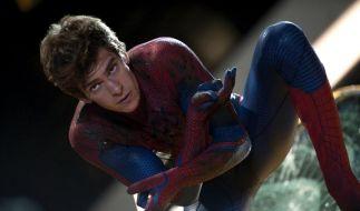 Lässt sich nicht hängen: Andrew Garfield als neuer Spider-Man. (Foto)