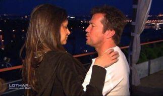 Läuten bei Lothar und Joanna bald die Hochzeitsglocken? (Foto)