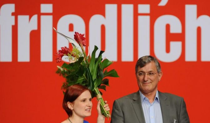 Lafontaine-Lager gewinnt Machtkampf um Linke-Doppelspitze (Foto)