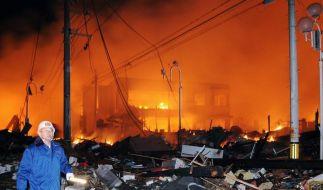 Lage im AKW Fukushima unklar - Kernschmelze droht (Foto)