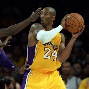 Lakers-Star Kobe Bryant wirft das Handtuch (Foto)