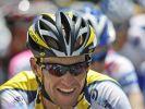 Lance Armstrong hat allen Grund zur Freude. (Foto)