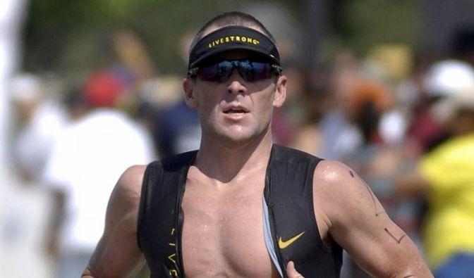 Lance Armstrong mischt die Triathlon-Szene auf (Foto)