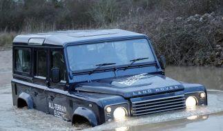 Land Rover setzt seine Allrad-Ikone Defender unter Strom (Foto)