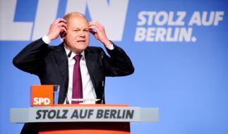 Landesparteitag SPD in Berlin (Foto)
