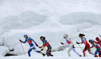 Langlauf-Staffel gewinnt Silber (Foto)