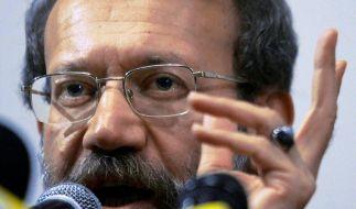 Laridschani skeptisch über Atom-Gesprächsangebot (Foto)