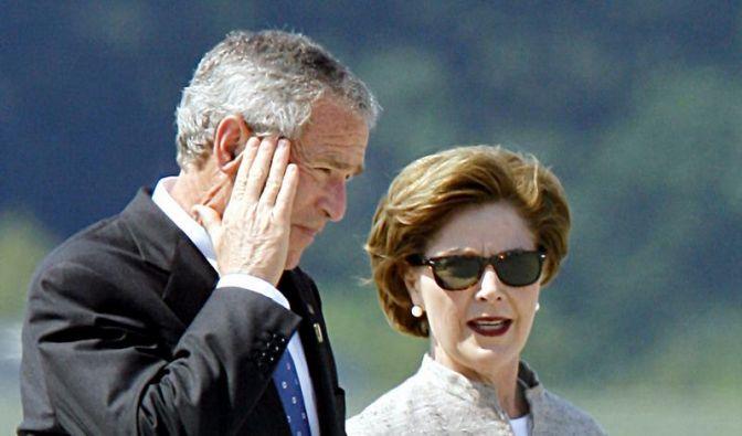 Laura Bush deutet Vergiftung in Heiligendamm an (Foto)