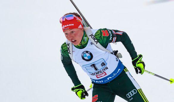 Laura Dahlmeier geht in Annecy optimistisch an den Start. (Foto)