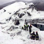 Zwei weitere Überlebende nach Lawinen-Unglück geborgen (Foto)
