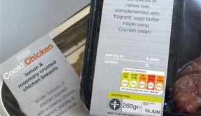 Lebensmittelkennzeichnung (Foto)