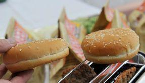 Lebensmittelmesse: Bierkäse und Toast-Burger (Foto)