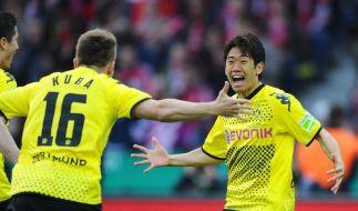 Lehrstunde für die Bayern: Dortmund schafft das Double (Foto)