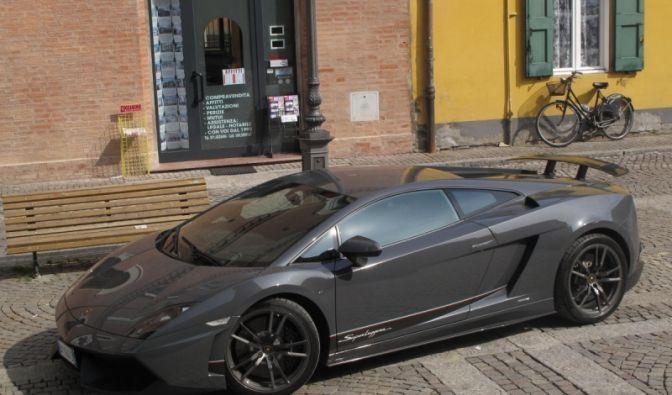 Leicht, leichter, Lamborghini (Foto)